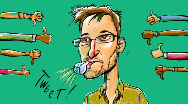 CIA subcontractor Edward Snowden leaks classified files