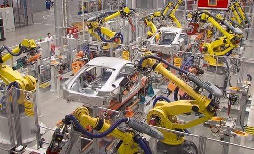 La producción empieza a emplear la robótica