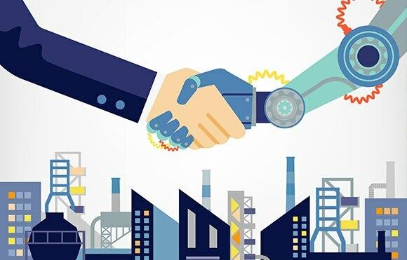 """La industria 4.0 """"fábricas inteligentes"""""""