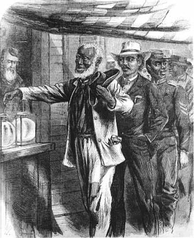 Introduction of the Fifteenth Amendment