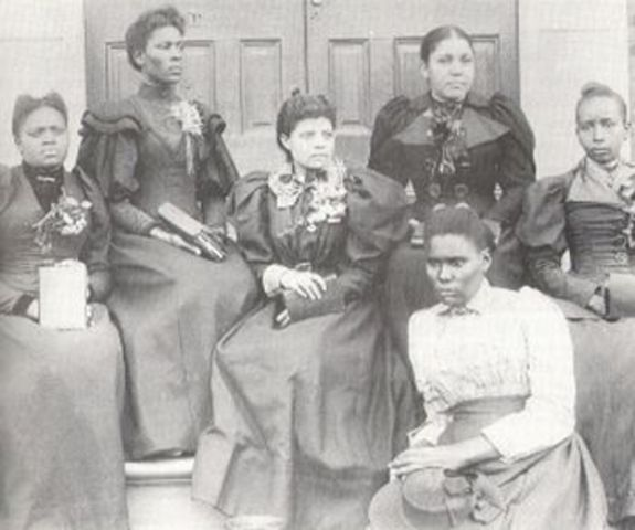 Opening of Spelman College, the first college for black women