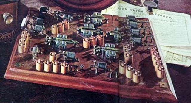 El telègraf quàdruplex (Edison)