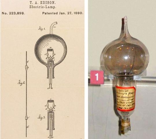 Bombeta de llum (Edison)
