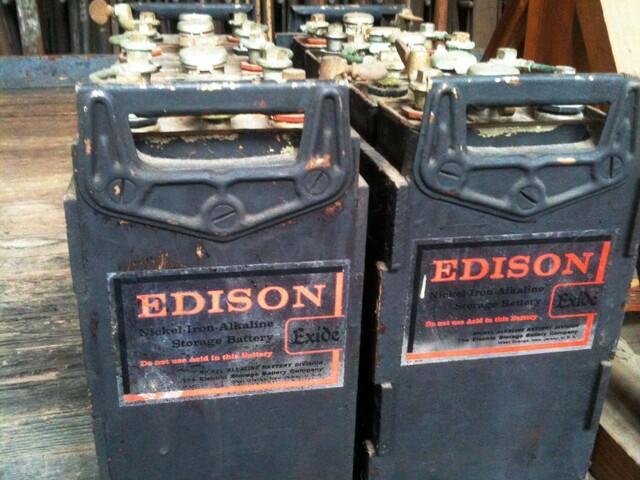 Bateries de níquel ferro (Edison)