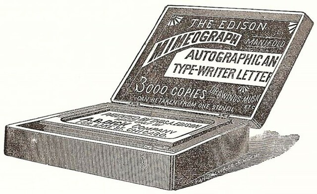 Mimeògraf (Edison)
