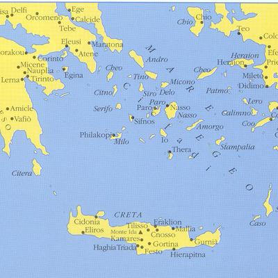 Nel Mar Egeo timeline