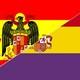 Guerra civil bandera mixta