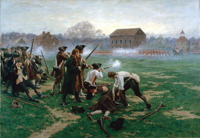 Concord and Lexington: The Shot Heard Round the World