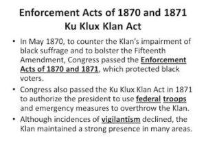 Enforcement Acts