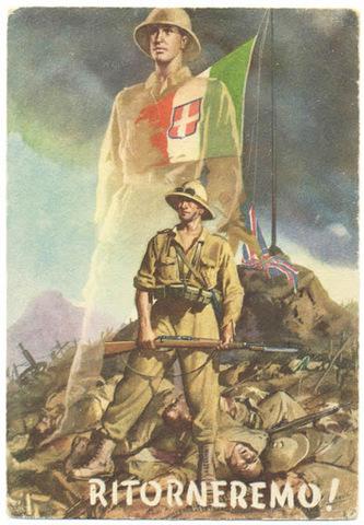 Itàlia entra en la guerra