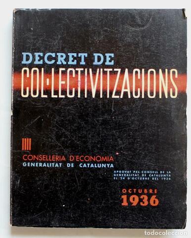 Decret de col·lectivitzacions