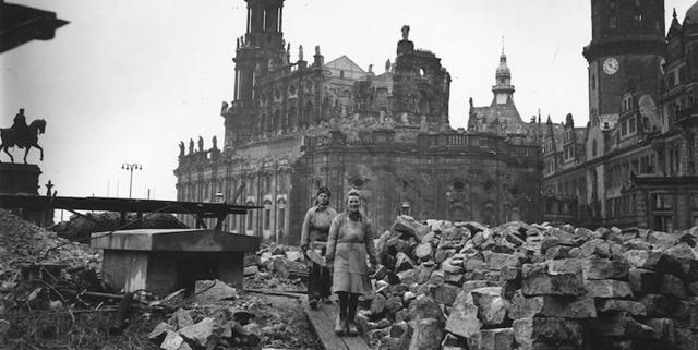 i bombardamenti di Dresda