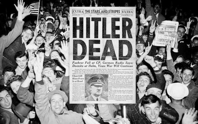 la morte di Hitler