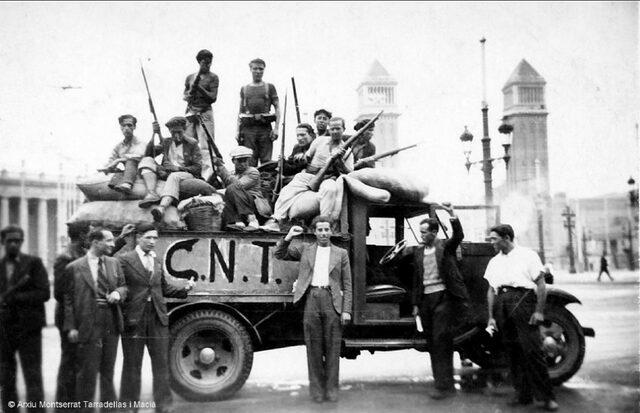 Fi enfrontament entre CNT-FAI i la Generlaitat