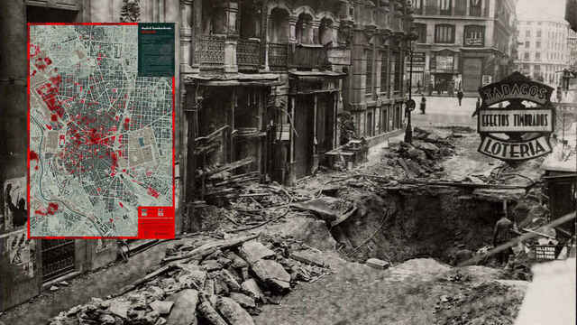 Primers bombardejos a Madrid