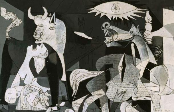 Picasso i el seu quadre