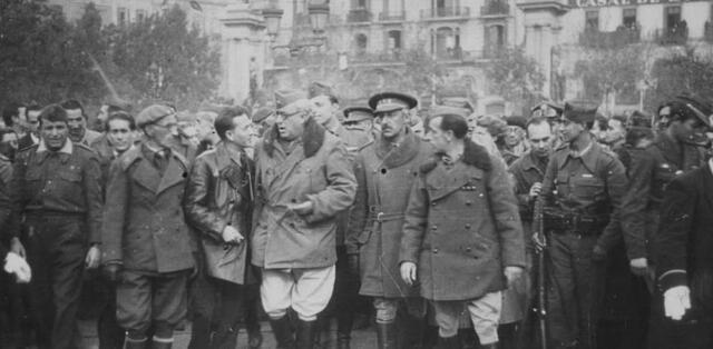 Exèrcit Marroquí entra a Barcelona