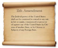 11th Amendment Ratified