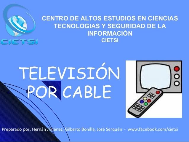 La Comisión Nacional de Televisión