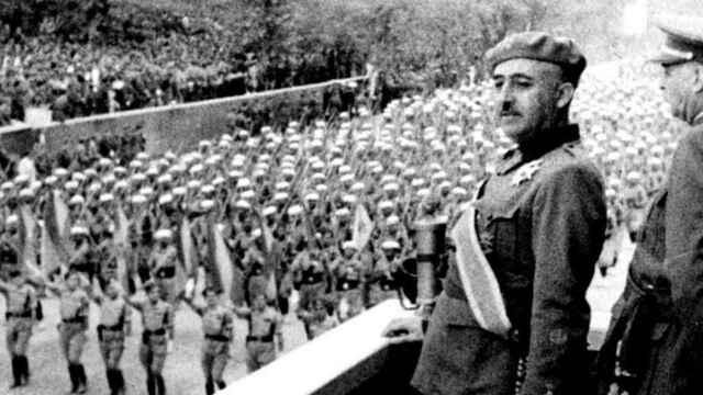 Franco arriba a Madrid