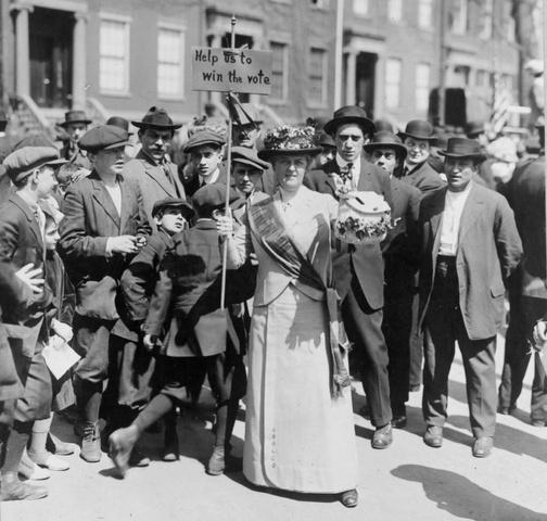 Women's suffrage amendment proposed