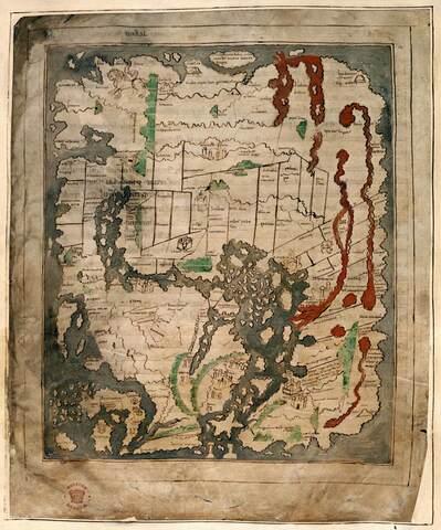 Anglo-Saxon Cotton World Map