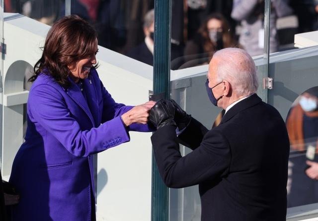 Joe Biden and Kamala Harris are sworn in