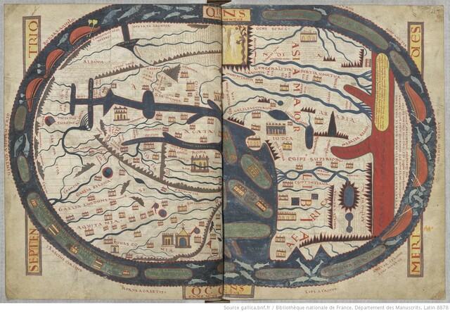 Mappa Mundi de Beatus de Liébana