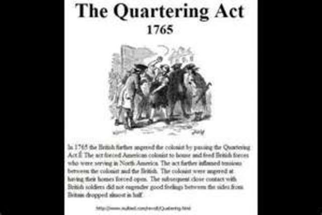 """""""Quartering Act"""""""
