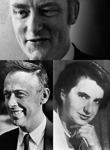 Francis Crick, James D. Watson i Rosalind Franklin ( 1953)
