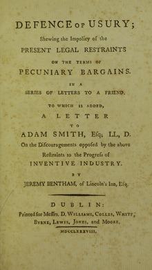 JEREMY BENTHAM, Obra: Introducción a los principios de moral y legislación