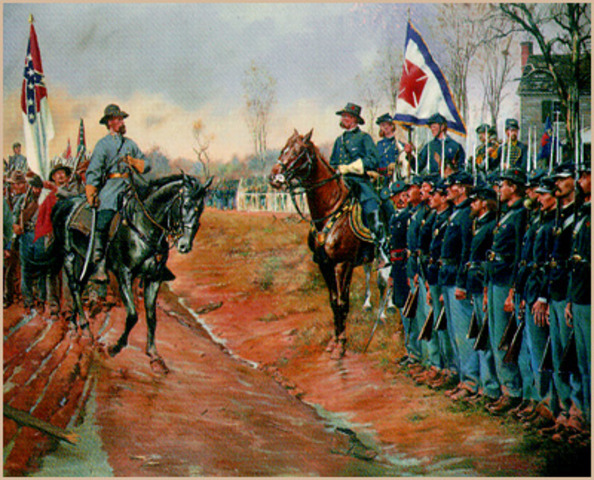 The Appomattox Courthouse Surrender