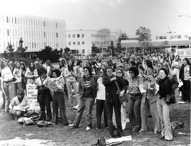 First Women's Studies Program established at San Diego State University