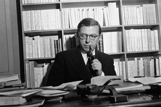 Jean Paul Sartre, Plaza como profesor