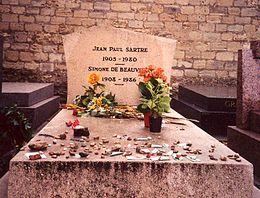 Muerte de Jean Paul Sartre