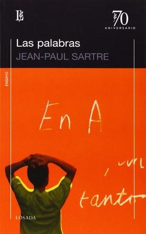 """""""Las palabras"""" Jean Paul Sartre"""