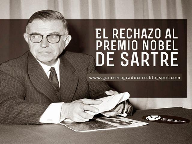 Premio novel Jean Paul Sartre
