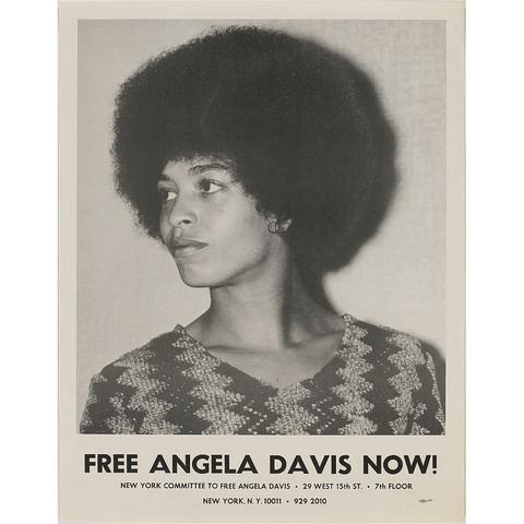 Free Angela Davis campaign begins