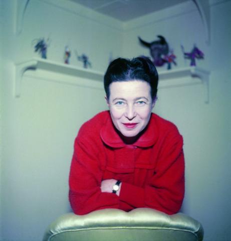 La invitada, Simone De Beauvoir