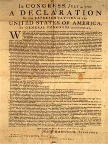 """""""Declaration of Independence"""""""