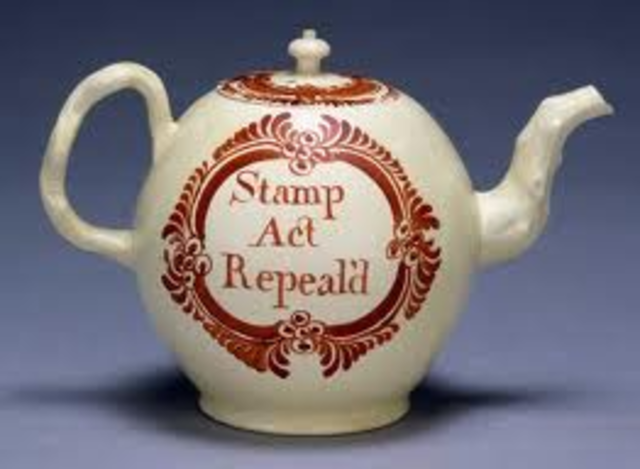 the stamp act is repealed