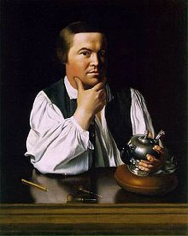 The Rides of Paul Revere and William Dawes