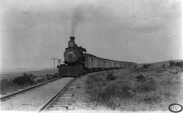 Ferrocarril de gobierno Porfirista