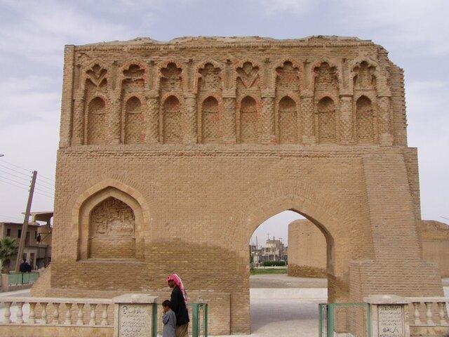 Puerta de Bagdad. (En época de Al-Mansur).