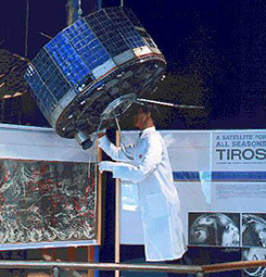First Imaging weather satellite