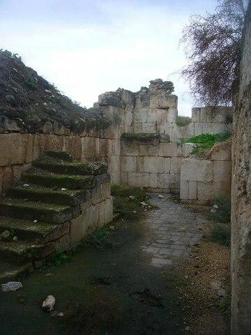 Khirbat al-Minya. (Galilea Oriental, actual Israel). -Walid I.