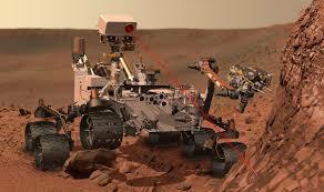 El Curiosity aterriza en Marte