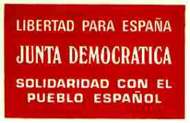 Junta Democràtica d'Espanya