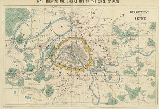 Siege of Paris begins