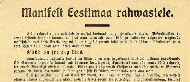 Esimese Eesti parlamendi valimised